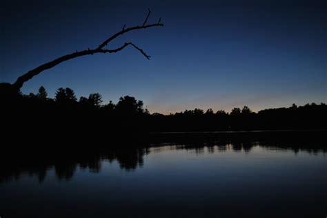 Free Photo Lake At Night Night Sky Water Free