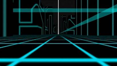 Tron Animated Inside Virtual Reality Computer Gifs