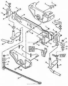 Snapper Lt145h38dbv 38 U0026quot  14 5 Hp Hydro Drive Tractor Series D Parts Diagram For Front Axle