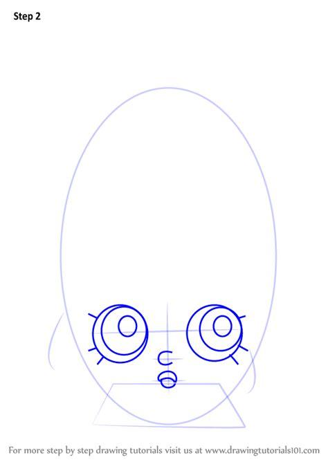 learn   draw creamy bun bun  shopkins shopkins
