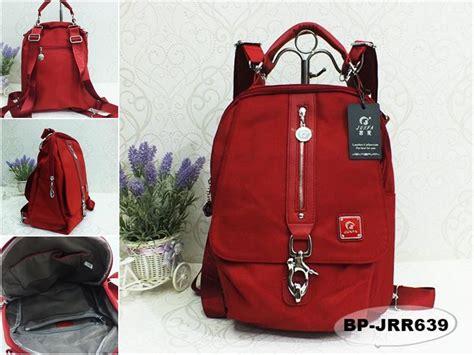 Tas Wanita Berkualitas A770 jual tas ransel wanita import junfa merah bp jrr639 murah