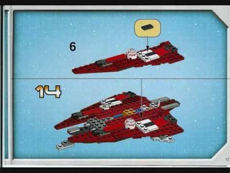 lego star wars jedi star fighter  obi wan