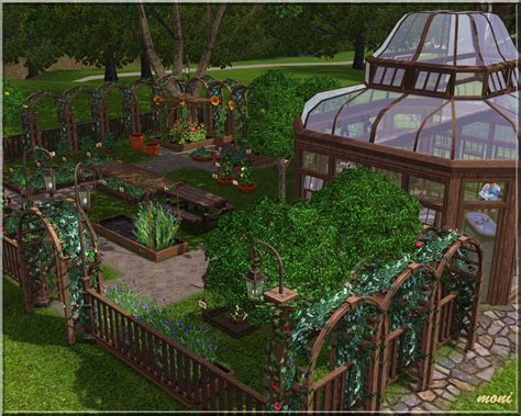 My Sims 3 Blog Small Garden By Moni