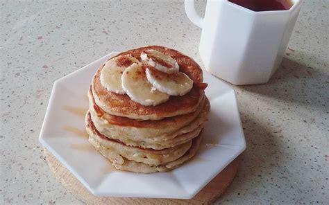 cuisine etudiant banana pancakes recette