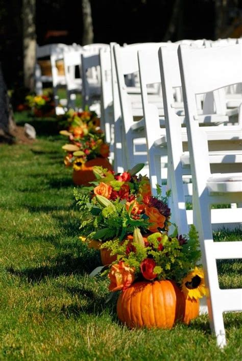 fall wedding wedding ideas and pumpkins on pinterest