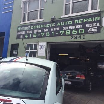 l repair san francisco emerald auto repair 298 reviews garages 2941 geary
