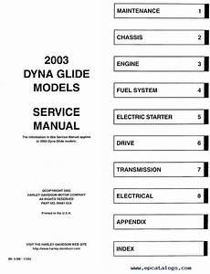 Download Harley Davidson Dyna 2003 Service Manual Pdf