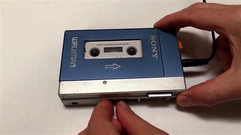 Cassette Walkman vintage sony walkman cassette player tps l2