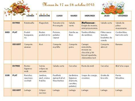 menu semaine cuisine az idees menu