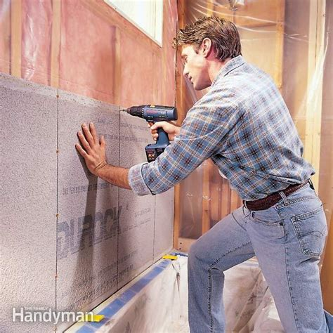 cement board ceramic tile the family handyman