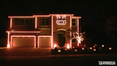 halloween light show this is halloween light show a house with led lights synchronized to
