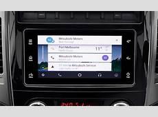 Smartphone Link Display Audio Mitsubishi Motors Australia