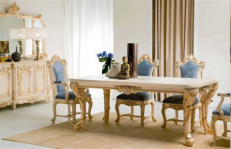 Classic And Luxurious Italian Dining Room Furniture