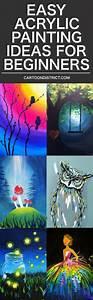 New, Painting, Ideas, For, Beginners, Easy, Acrylic, 37, Ideas