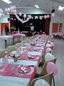 Decoration Pour Bapteme Fille : table pour le bapteme de ma petite fille enola plaisir de la broderie ~ Mglfilm.com Idées de Décoration