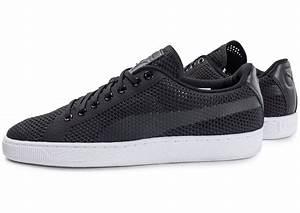 Basket Puma Noir Homme : puma basket classic evoknit noire chaussures baskets homme chausport ~ Melissatoandfro.com Idées de Décoration