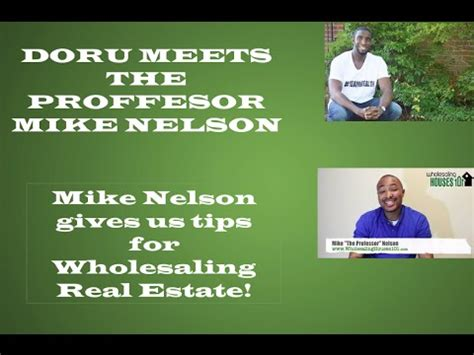 Wholesaling Houses 101 - wholesaling houses 101 tips with mike nelson