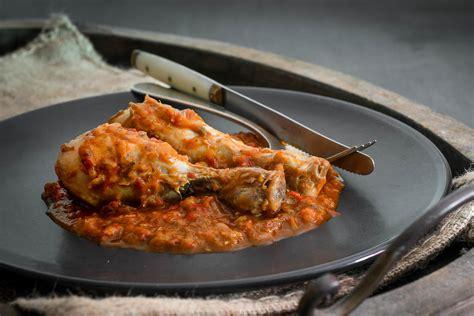 Pollo al chilindrón, receta de cocina fácil, sencilla y ...