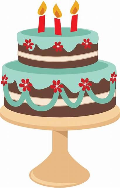 Baking Clip Cake Clipart Birthday Retro Cakes