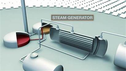 Steam Turbine Electricity Generator Salt Water Energy
