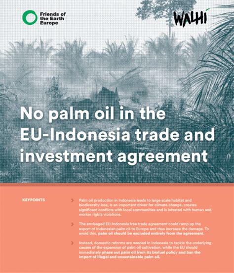 palm oil   eu indonesia trade  investment