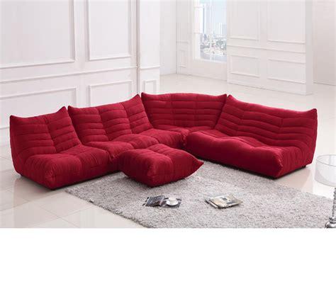 dreamfurniturecom divani casa bloom modern fabric