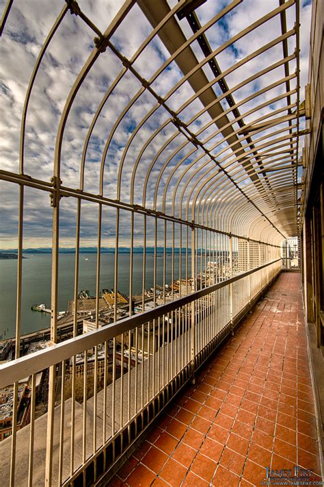 Smith Tower Observation Deck by Pioneer Square Seattle Wa