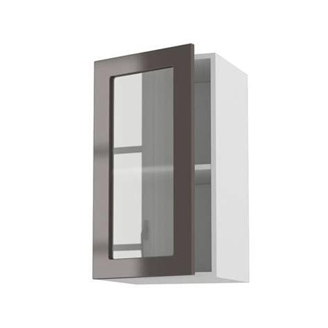 porte de meuble cuisine meuble cuisine mural 40cm 1 porte vitree 40 70 achat