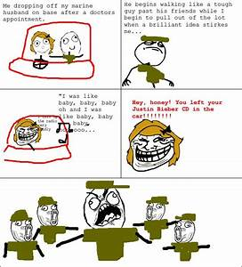 Rage Comics: Trolling my marine @Kimberly Smith-Mateycak ...