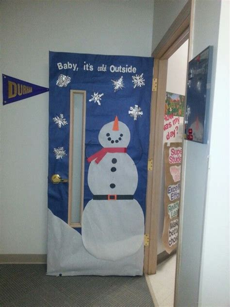 preschool door decorations for christmas 7 best winter doors images on door classroom door and snowman