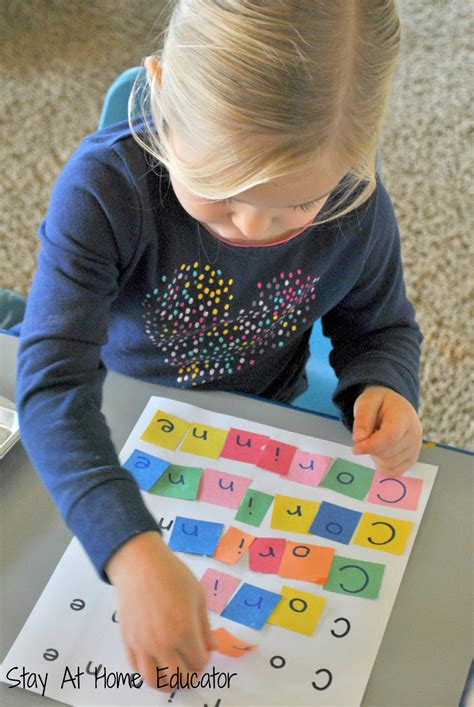 letter tile names a name recognition activity 955 | Letter tile names for name recognition in preschool Stay At Home Educator 1340x2000