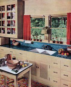 retro kitchen flooring kitchen cupboards depression and bungalows on 1936