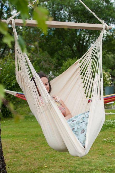 Hammock Uk by Knit Hanging Chair Ecru Small Hammock Heaven