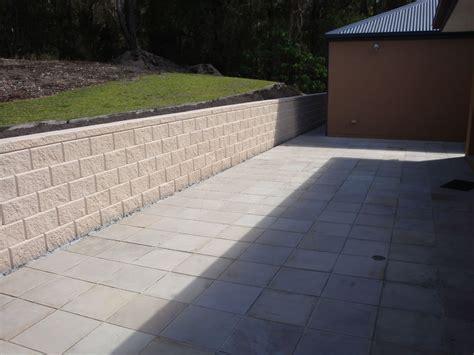 block retaining wall australian retaining walls heron concrete block retaining wall tallebudgera australian