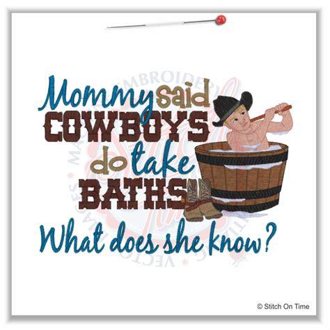 4970 sayings cowboys do bath 5x7 163 1 90p
