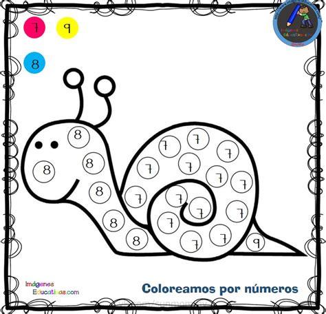 Fichas para colorear por letras números y símbolos (3