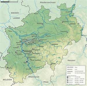 Nord Rhein Westfalen : fluss karte nordrhein westfalen ~ Buech-reservation.com Haus und Dekorationen