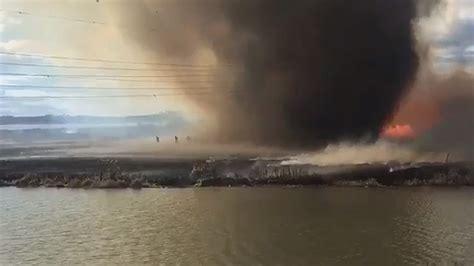 Fire Tornado Caught On Camera