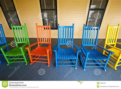 porch rockers royalty free stock images image 31993709