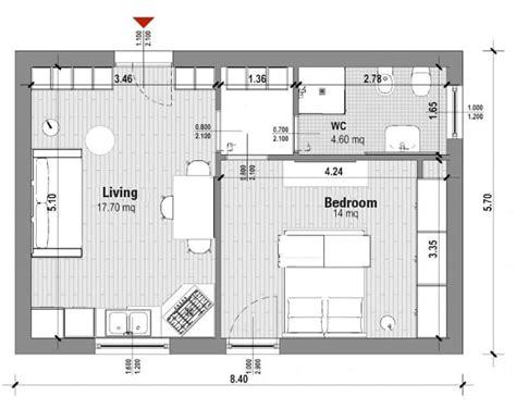 bedroom apartment floor plans  standards  examples biblus