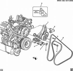 2001 Buick Park Avenue Belt Diagram
