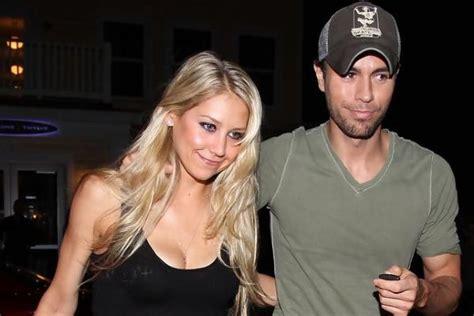 Anna Kournikova and Enrique Iglesias Twins