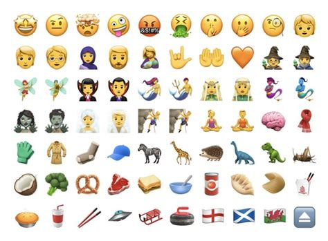 Ios Update Means There's Now An Emoji For Just About Any