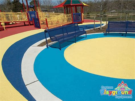 Poured Rubber Flooring For Playgrounds by Poured In Place Rubber Playground Surfacing Call For A