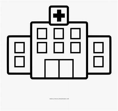 Hospital Drawing Coloring Clipart Clipartkey