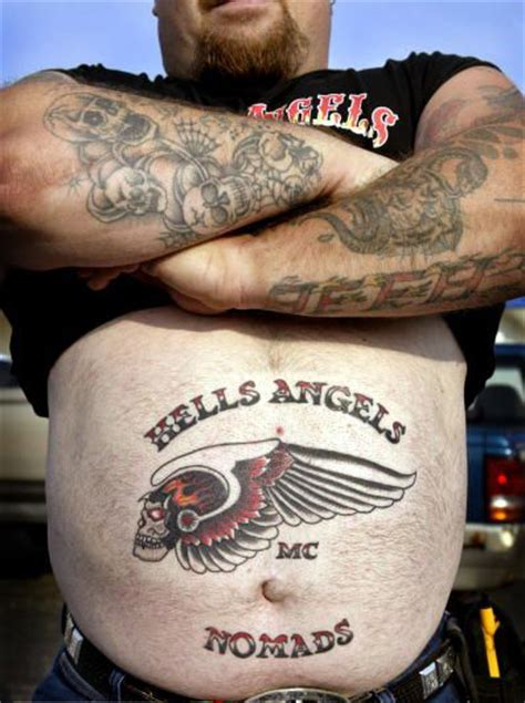 Tattooing Is Their Life Biker Gang Tattoos