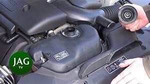 Checking Engine Coolant  Jaguar S-type R Str