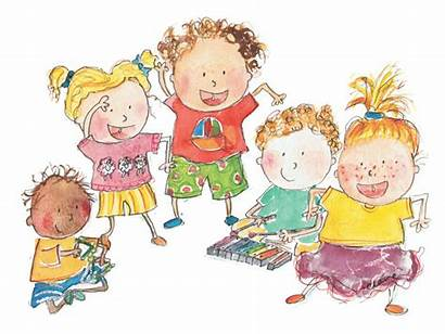 Play Sing Curriculum Preschool Clipart Child Children