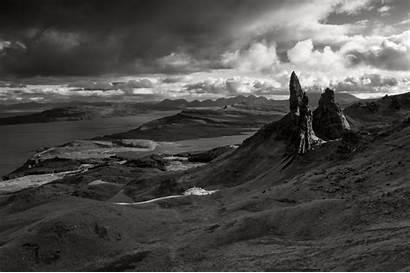 Landscape Scotland Lake Bw Wales