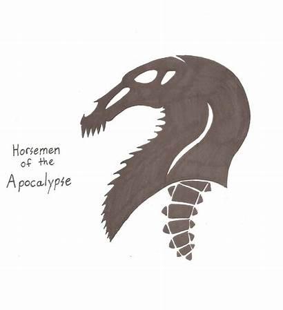 Horsemen Apocalypse Symbol Monsterkingofkarmen Deviantart Favourites